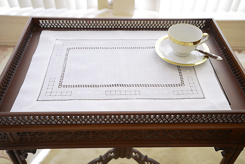 Double Hemstitch Placemat.